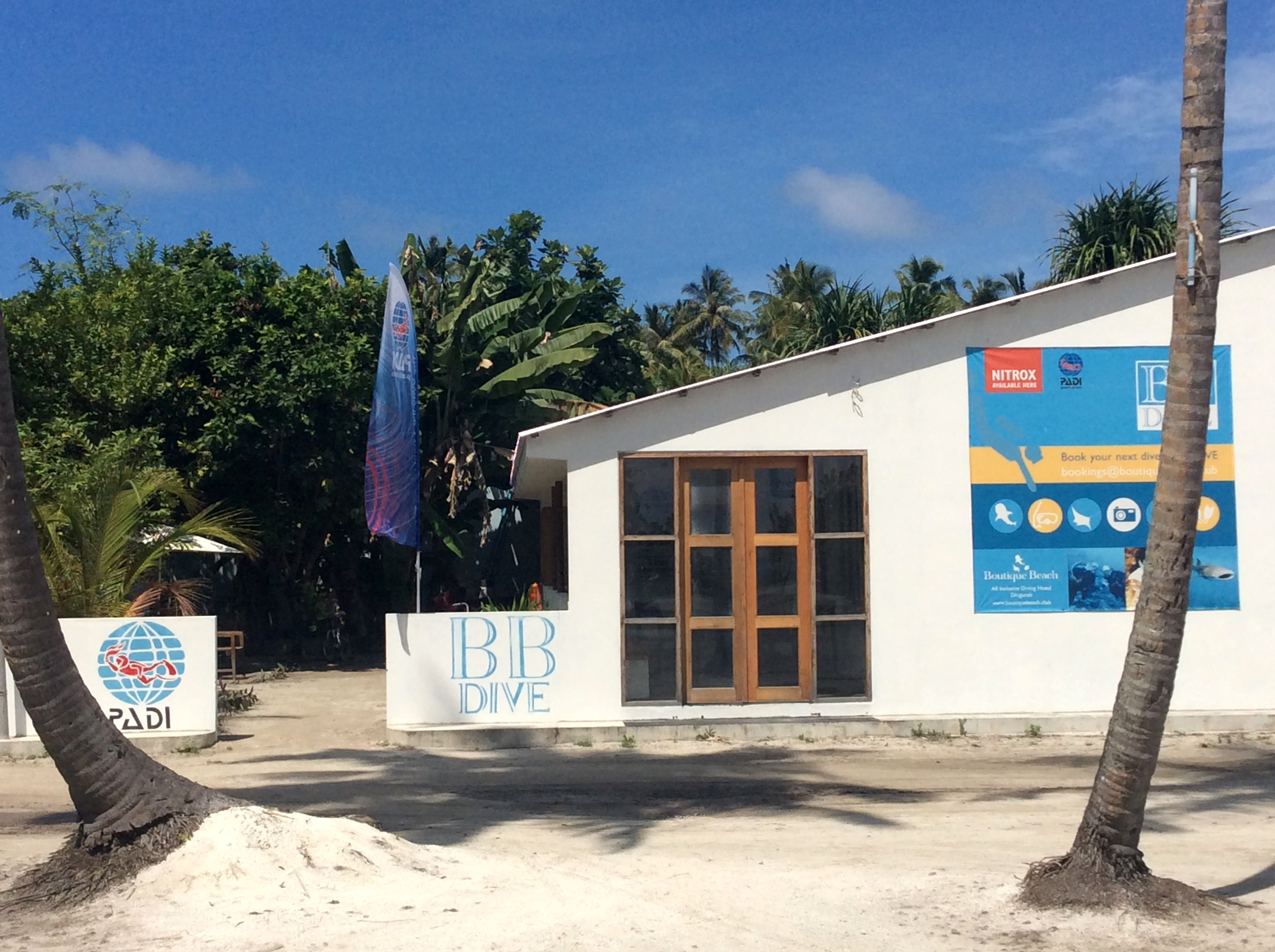 Boutique Beach Maldives Dive Centre Building