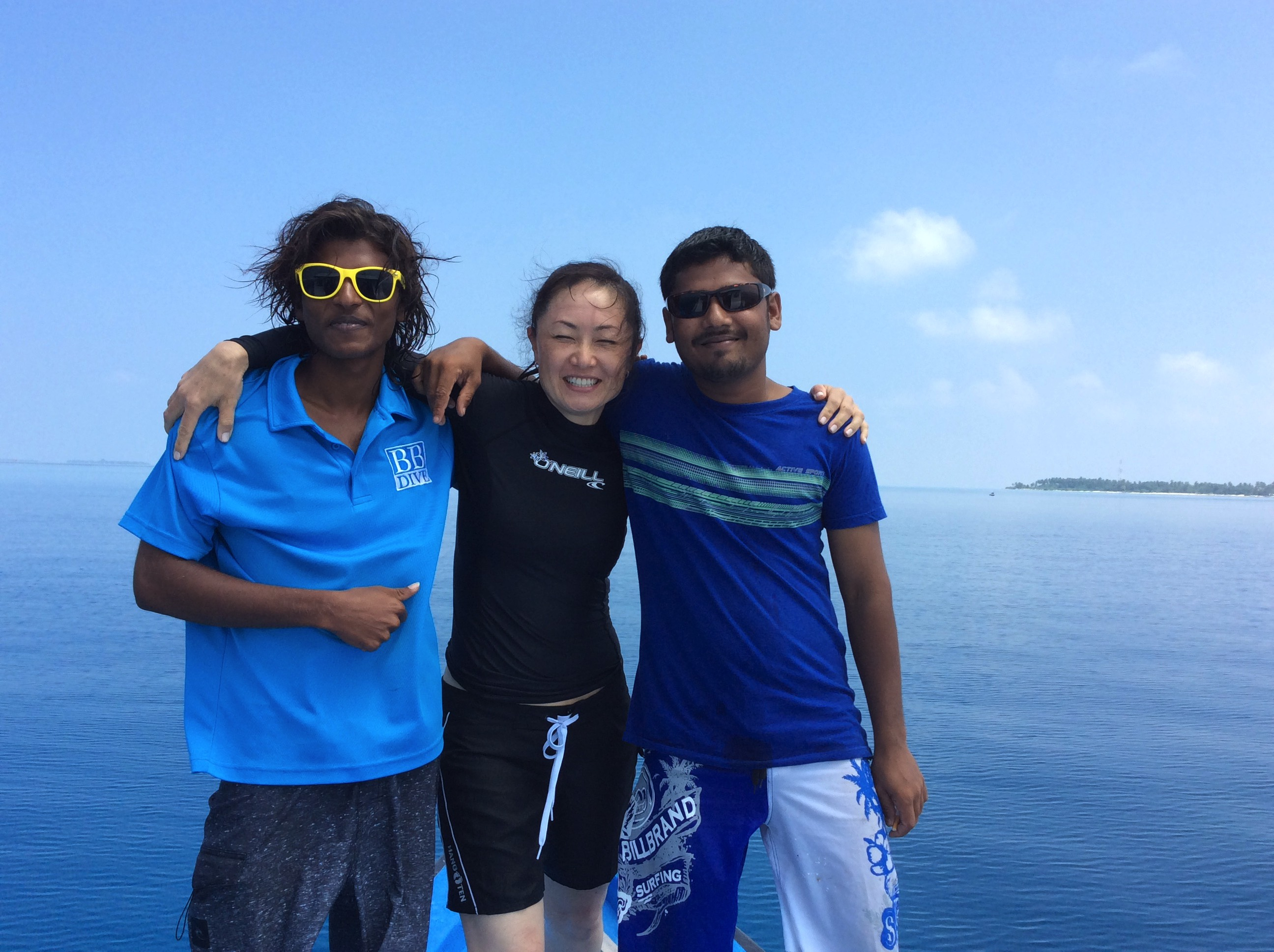 Boutique Beach Hotel Dive Instructor with Diving Guests