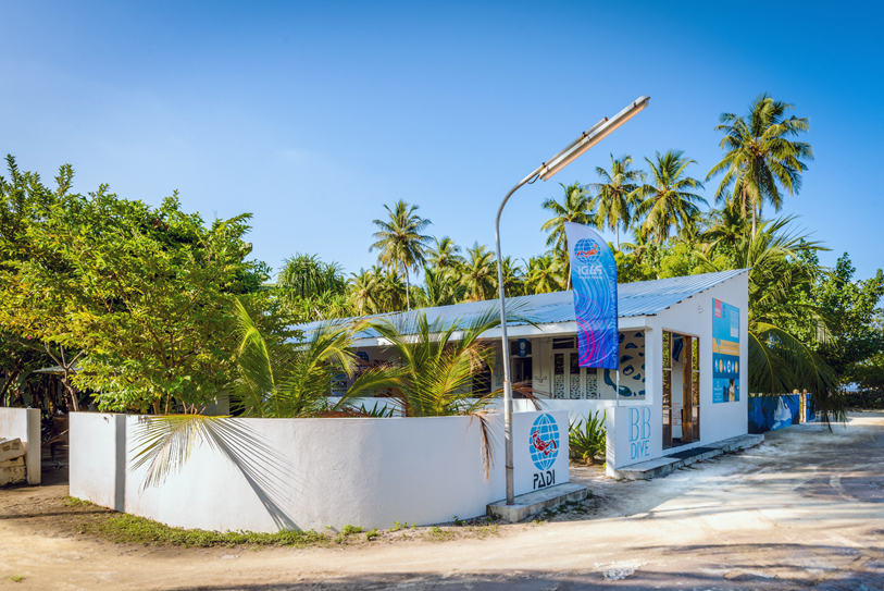 Boutique Beach Hotel Dive Centre Buidling